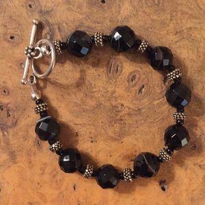 Jewelry - Sardonyx and Silver Bracelet